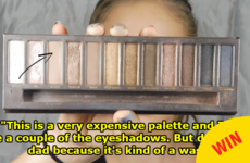 This dad narrated his teenage daughter's makeup tutorial and it's sassy as hell