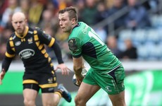 International back three in place as injury-hit Connacht welcome Wasps