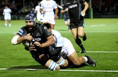 Glasgow take top spot in Munster's pool but fall short of bonus point against Racing