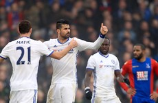 11 and counting! Chelsea equal club record with victory at Crystal Palace
