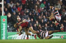 Late long-range penalty brings Munster winning streak to an end in Welford Road
