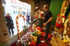 The delicate art of creating a brilliant Christmas window display