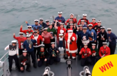 These Irish sailors made the most joyous Christmas lip-sync video for charity