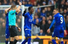 Leicester appeal Jamie Vardy's ban for red card