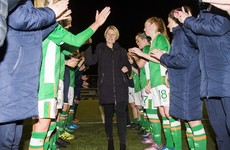 In Pics: A review of Sue Ronan's career as Ireland women's football manager