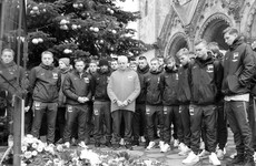 Hertha Berlin pay tribute to Christmas market victims