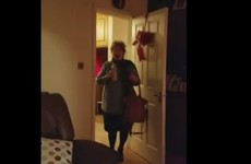 This Donegal Mam's reaction to her son coming home for Christmas is just priceless