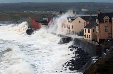Warnings from Coast Guard as Storm Barbara rolls in
