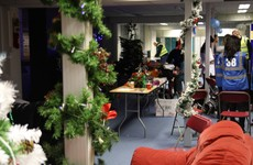 About 70 people will have Christmas dinner in Apollo House today