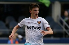 Highly-rated Ireland youth international included on West Ham's bench today