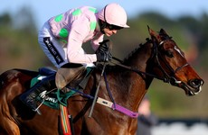 Ruby Walsh eases to victory aboard Douvan in the Paddy Power Cashcard Chase