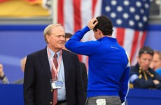 Jack Nicklaus questions Rory McIlroy's desire to be the 'greatest player to have played the game'