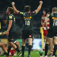 Harlequins and Gloucester serve up 52 points in front of 77,000 fans at Twickenham