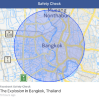 Facebook Safety Check triggers false Bangkok bomb scare