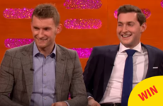 The O'Donovan brothers completely owned the couch on Graham Norton's New Year's Eve special