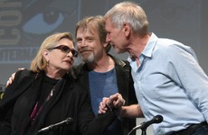 'Funny and emotionally fearless': Harrison Ford on the late Carrie Fisher