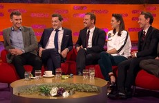 The O'Donovans went down a treat on Graham Norton's New Year's Eve special