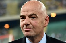 Fifa president claims all federations are in favour of an expanded World Cup