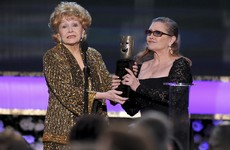 Carrie Fisher's mother Debbie Reynolds dies just one day after her