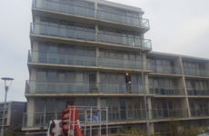 Occupation of empty Dublin apartment block by homelessness activists ends