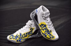 Someone paid more than $30k for this pair of worn Steph Curry runners