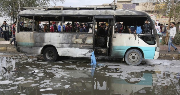 Suicide car bomb kills at least 32 in busy Baghdad neighbourhood