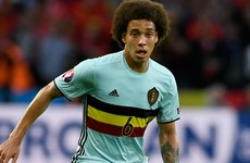 Belgian star Witsel opts for China over Juventus in 'very difficult decision'