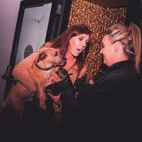 This photo of a girl trying to sneak her dog into a Monaghan nightclub is class
