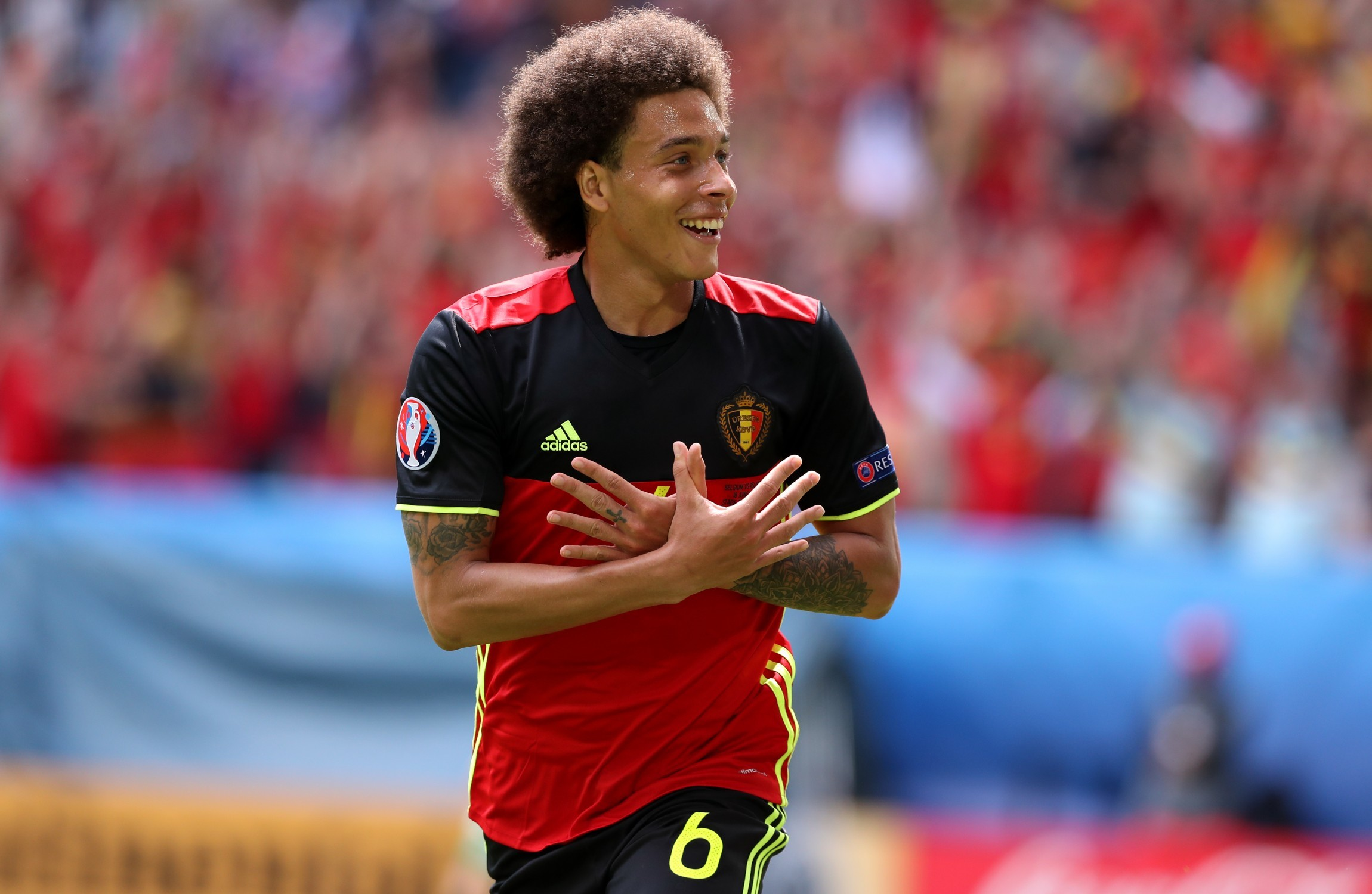 Money talks Axel Witsel signs €20 million a year deal with