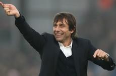 Premier League rivals 'jealous' of high-flying Chelsea - Conte