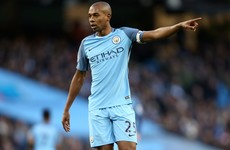 Manchester City's Fernandinho to miss next four games after ban upheld