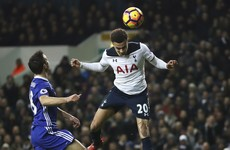 Dele Alli at the double to derail Antonio Conte's record men