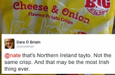 Dara Ó Briain quickly corrected this person when they mixed up the two Taytos