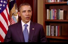 """2011 a """"time of great challenge and progress"""", says Obama"""