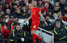 Jordan Henderson set to return for Liverpool's clash with Manchester United