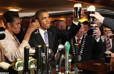 'He might come to the plaza and have a burger': Obama's 'coming back to Ireland'