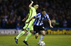 Richie Towell is making his first start of the season for Brighton