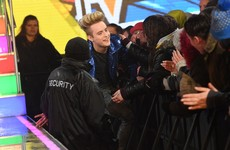 Jedward snotted themselves TWICE on the way into the Celebrity Big Brother house last night