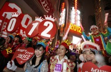 It's 2012! Australia and Asia ring in the new year