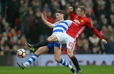 Reading player clarifies Rooney jersey incident