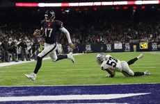 Raiders Cook-ed as Texans march on in playoffs