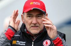 Mickey Harte has told critics of Cathal McCarron 'not to fall off their high moral ground'