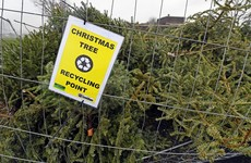 Several Christmas tree fires have been put out at Killiney Hill over the past week