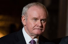 Not going easily: Arlene Foster criticises Martin McGuinness for resigning as Deputy First Minister