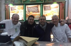 The Impractical Jokers stopped to sample Burdocks ahead of their Dublin gig tonight