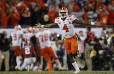 Clemson stun Alabama with last-second touchdown to win national championship game