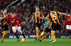 As it happened: Manchester United v Hull City, EFL Cup semi-final 1st leg