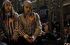Holocaust survivors criticise Nazi camp inmate garb at protest