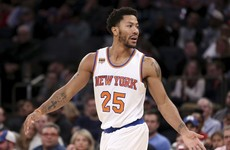 Knicks fine Derrick Rose, but welcome him back after no-show for 'family issue'