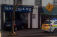 Car driven through doors of fast food shop in Arklow